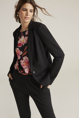 Long Tall Sally Ponte Spot Suit Jacket