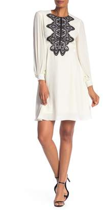 Nanette Lepore NANETTE Chiffon Lace Dress