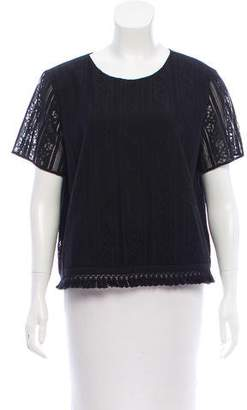 MICHAEL Michael Kors Knit Short Sleeve Top w/ Tags