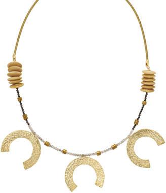 Flaca Jewelry 3-Tier Horseshoe Necklace
