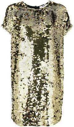 MSGM sequins embellished loose dress