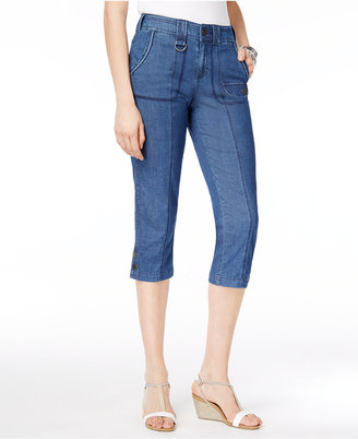Style & Co Cargo Capri Pants, Only at Macy's $49.50 thestylecure.com