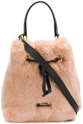 Furla Stacy Nuvola medium bucket bag