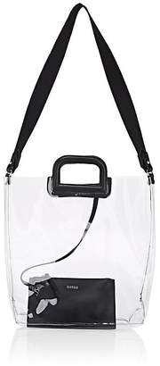 Barneys New York Women's Leather-Trimmed Transparent Tote Bag