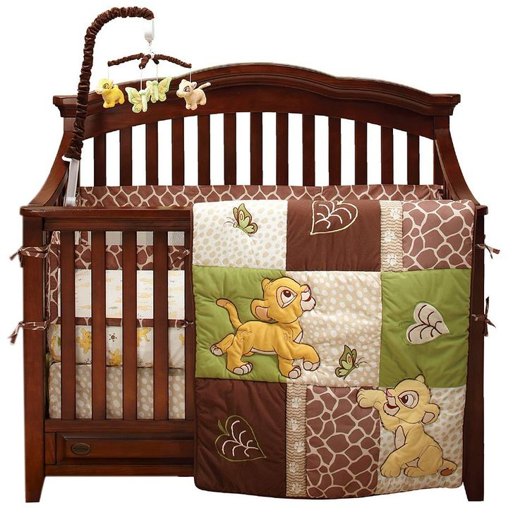 Disney Disney The Lion King 4-pc. Go Wild Crib Set