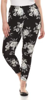 Laundry by Shelli Segal Plus Size French Printed Leggings