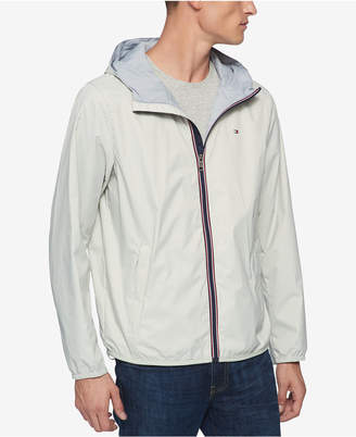 Tommy Hilfiger Men Big & Tall Hooded Rain Slicker