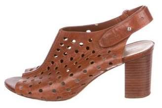 Loeffler Randall Perforated Slingback Sandals