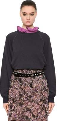 Etoile Isabel Marant Cotton & Linen Blend Sweatshirt