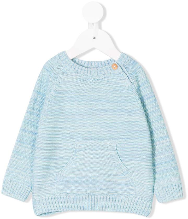 Knot round neck sweater