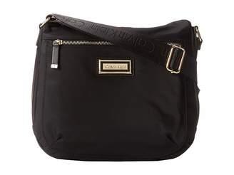 Calvin Klein Black Top Zip Shoulder Bags - ShopStyle acac5a8f12