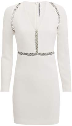 Alexander Wang Grommet Trim Mini Dress