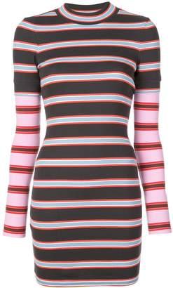 Cinq à Sept striped mini dress