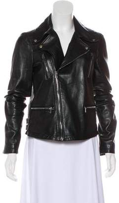 Gucci 2018 Leather Biker Jacket
