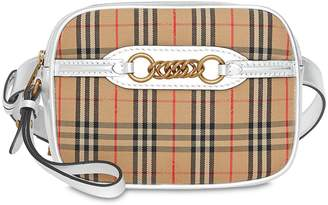 Burberry 1983 Checked Belt Bag W/ Chain