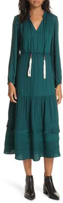 Dolan Tassel Tie Midi Dress