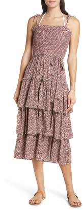 Tory Burch Wild Pansy Cover-Up Dress