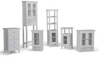 "Simpli Home Acadian Floor Storage 14.97"" W x 30.04"" H Cabinet"