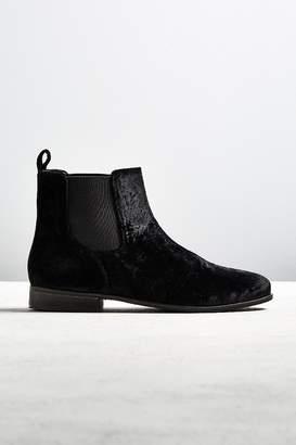 Urban Outfitters Velvet Chelsea Boot