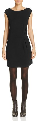 Eileen Fisher Short Ballet Neck Dress $178 thestylecure.com