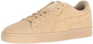 Puma Men's Suede Classic Tonal Sneaker Pebble, 11 M US