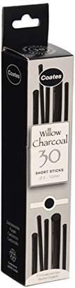Global Art Materials Coates Assorted Artist Willow Charcoal (30 Sticks)