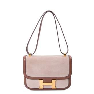 Hermes Constance cloth handbag