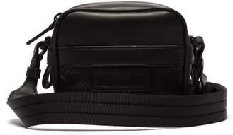 Bottega Veneta Perforated Leather Cross Body Bag - Mens - Black 8d336d5361aed