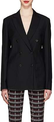 Prada Women's Wool-Mohair Double-Breasted Blazer