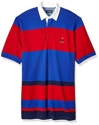 ea6a6bedc31 Chaps Men's Big and Tall Classic Fit Fashion Cotton Mesh Polo Shirt