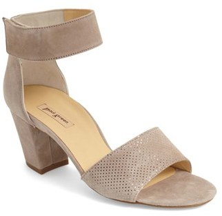 Paul Green 'Wells' Ankle Strap Sandal $289 thestylecure.com