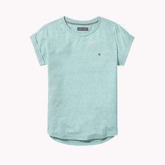 Tommy Hilfiger TH Kids Roll-Up Sleeve Top
