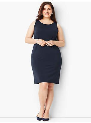 Talbots Plus Size Matte Jersey Shift Dress