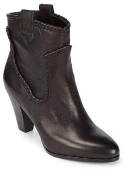 Karl Lagerfeld Paris Provence Leather Booties