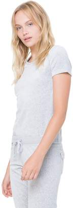 Juicy Couture Stretch Velour Interwoven JC Tee