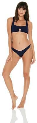 L-Space Julia Ring-Detail Bikini Top