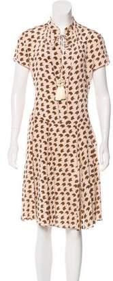 Derek Lam Silk Printed Dress w/ Tags