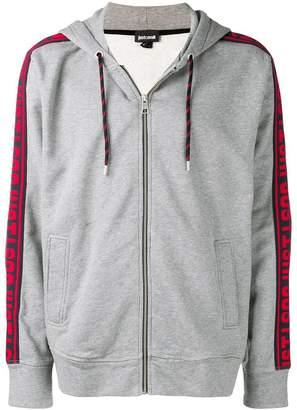 Just Cavalli logo band hoodie