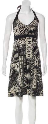 Patagonia Halter Printed Mini Dress