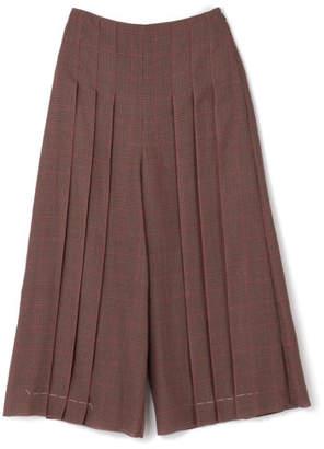 Mila Owen (ミラ オーウェン) - Mila Owen プリーツロングスカート見えパンツ