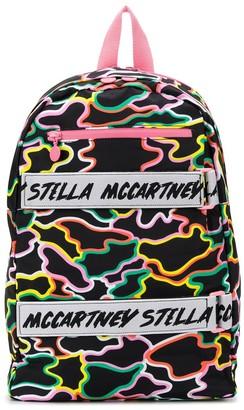 Stella McCartney camouflage print backpack