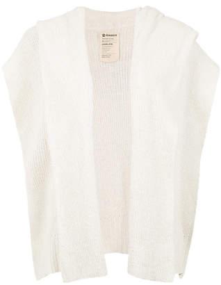 OSKLEN overlap knitted top