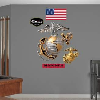 Fathead USMC Globe & Anchor Wall Decals
