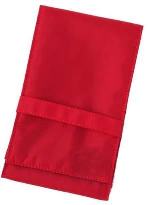 メイクブラシ用 ナイロンブラシケース(赤) 短軸用(RE・WP用)