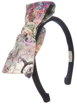 MonnaLisa Chic Velvet Embellished Headband