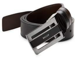 Bally Reversible Plaque Buckle Belt