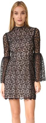 Jill Jill Stuart Mock Neck Lace Dress $418 thestylecure.com