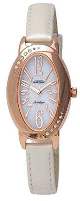 Aureole [オレオール ソーラーオーバルレディース腕時計 SW-583L-3