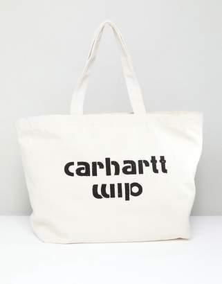 Carhartt (カーハート) - Carhartt WIP Carhartt Shopper Bag in Ecru