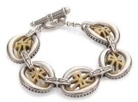 Konstantino Penelope Cross Link Bracelet